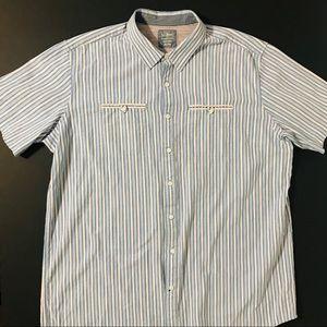 L.L BEAN XXL-Tall, Short sleeve, button down